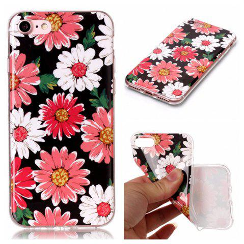 Cheap Wkae TPU Material Color Pattern Protection Shell for IPhone 7 / 8