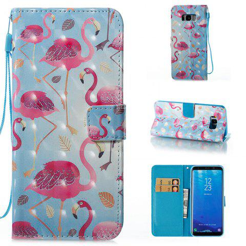 Discount Wkae 3D Stereo Painted Leather Case Cover for Samsung Galaxy S8 Plus