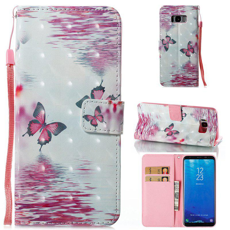 Latest Wkae 3D Stereo Painted Leather Case Cover for Samsung Galaxy S8 Plus