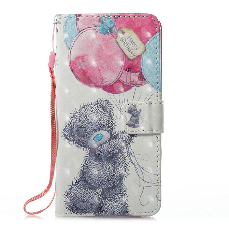 Shops Wkae 3D Stereo Painted Leather Case Cover for Huawei P8 Lite 2017