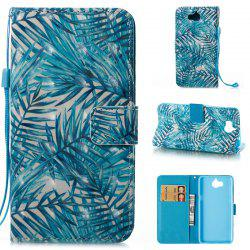 Wkae 3D Stereo Painted Leather Case Cover for Huawei Y5 2017 / Y6 2017 -