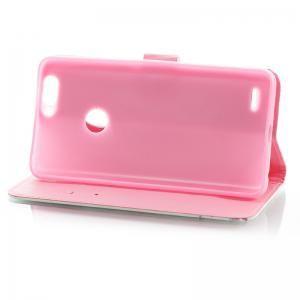 Wkae 3D Stereo Painted Leather Case Cover for ZTE Z982 -