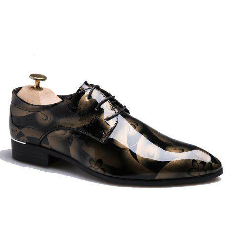 Fancy Men's Fashion Big Size Peas Shoes