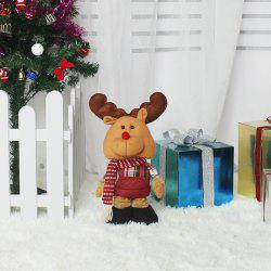 WS 0203 Santa Snowman doll children gifts Decor creative novelty Reindeer -
