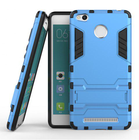 Affordable Dual Layer Armor Defender Shockproof Protective Hard Case With Stand for Xiaomi Redmi 3 Pro / 3S