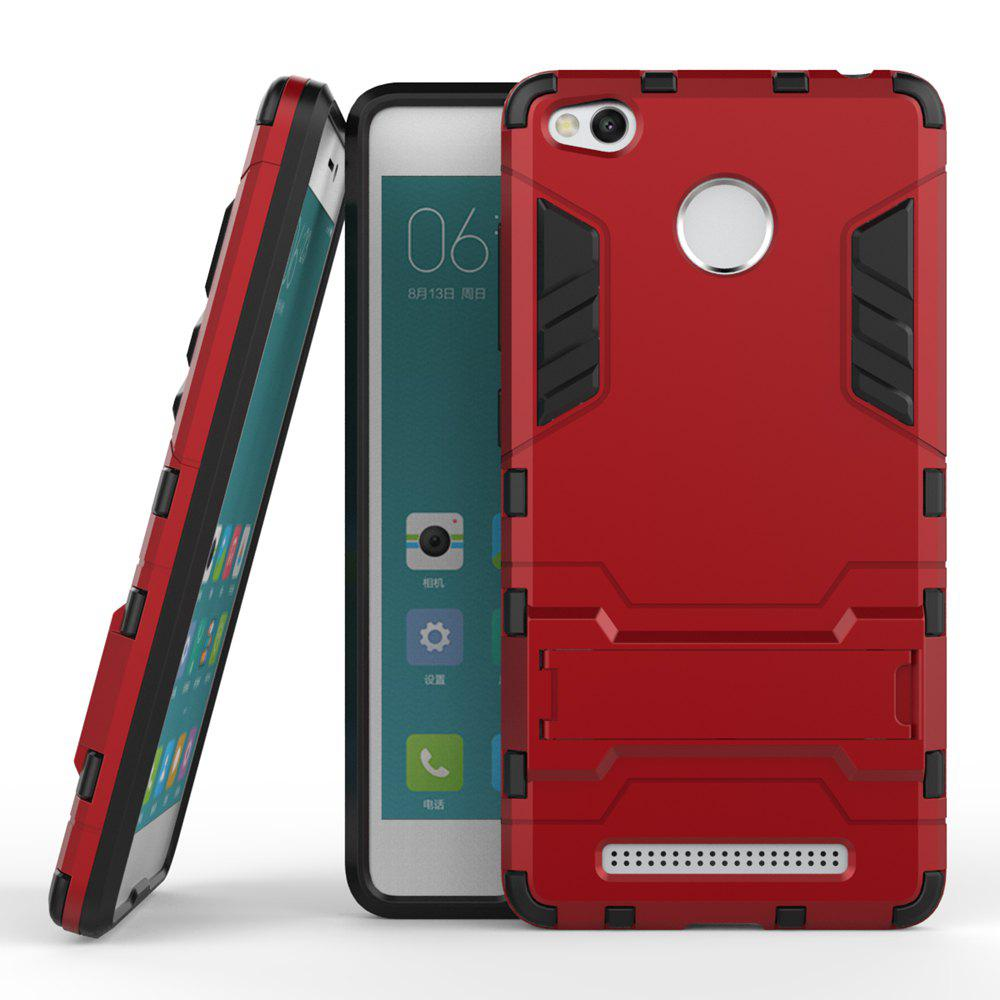 New Dual Layer Armor Defender Shockproof Protective Hard Case With Stand for Xiaomi Redmi 3 Pro / 3S