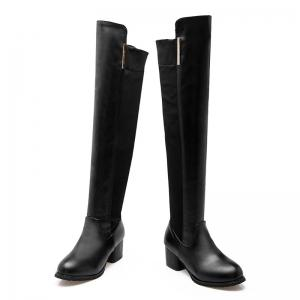 The New Style Thick and Pointed Lady Boots -