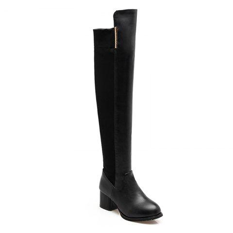 Chic The New Style Thick and Pointed Lady Boots