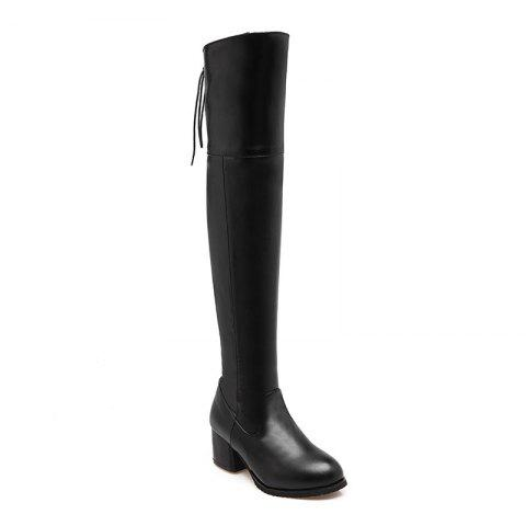 Chic The New Style Retro Style Has A Simple Boot