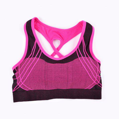 Discount 2017 Fashion Outdoor Running Sports Bra for Every Sexy Girls