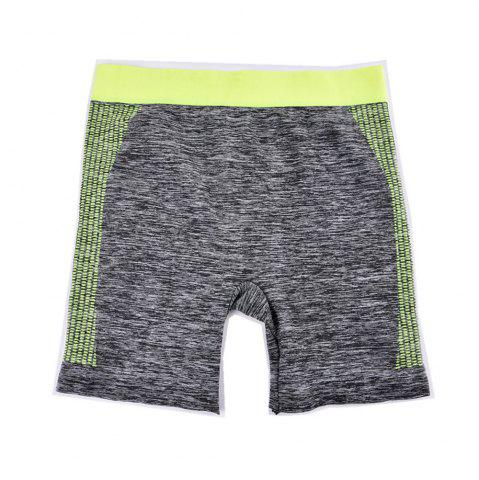 New Breathable Ladies Seamless Yoga Short Pants Fashion Colorful Design