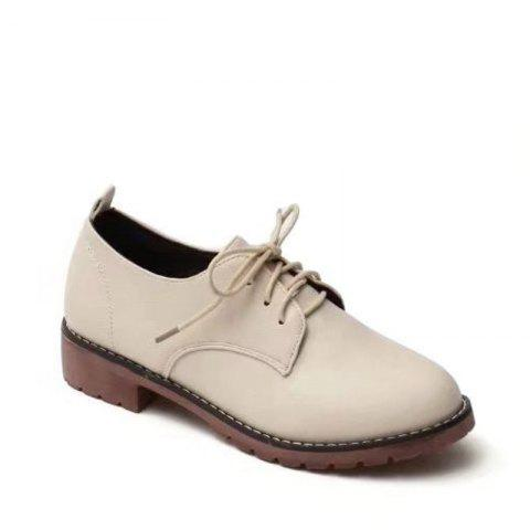 Buy Autumn Thick Bottom England Preppy Chic Leather Students Leisure Single Shoes Girl