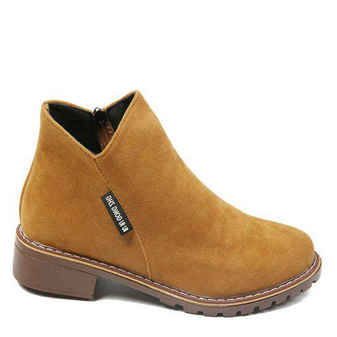 Shop Winter New British Style Martin Short Boots Fashion Women's Shoes