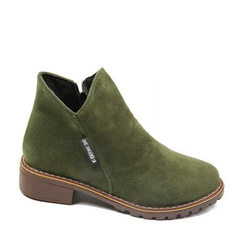 Hot Winter New British Style Martin Short Boots Fashion Women's Shoes