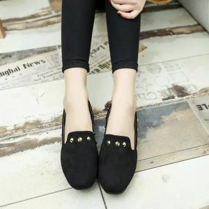 New Style Fashion Rivet Flat Keel Moccasin-Gommino Women Shoe -