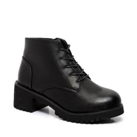 Discount Winter New Style European and American Wind  Martin Boots Women's Fashion Short