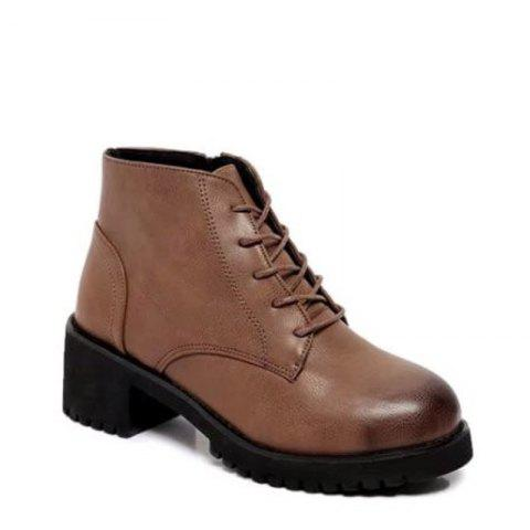 Fancy Winter New Style European and American Wind  Martin Boots Women's Fashion Short