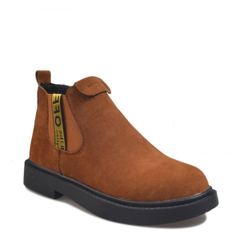 Discount New Winter Boots A British Style Fashion Flat Keel Martin Wedgie