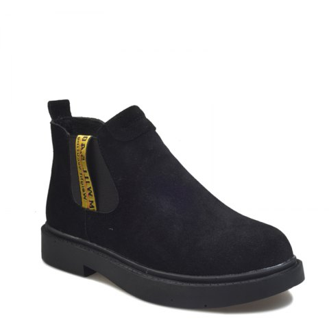 Buy New Winter Boots A British Style Fashion Flat Keel Martin Wedgie