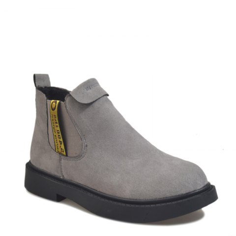Hot New Winter Boots A British Style Fashion Flat Keel Martin Wedgie