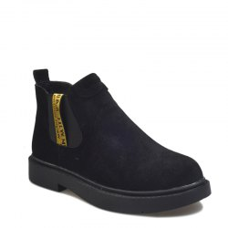 New Winter Boots A British Style Fashion Flat Keel Martin Wedgie -
