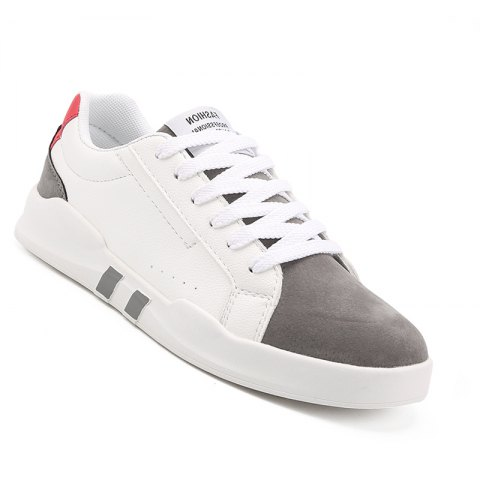 Hot Men Casual Fashion Leather Flat Canvas Shoes Size 39-44