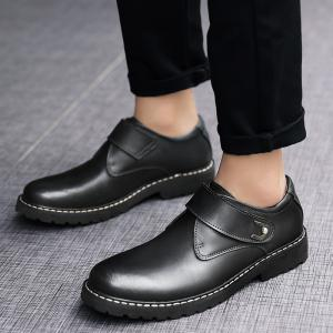 Business Men Shoes Genuine Leather Loafers High Quality Soft Casual Breathable Flats -