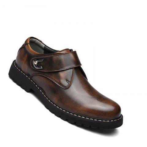 Affordable Business Men Shoes Genuine Leather Loafers High Quality Soft Casual Breathable Flats