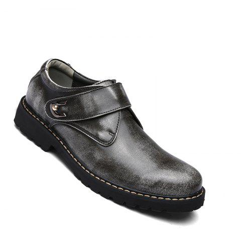 Unique Business Men Shoes Genuine Leather Loafers High Quality Soft Casual Breathable Flats