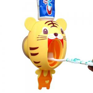 Automatic Toothpaste Squeezing Machine Toothbrush Rack - Little Tiger -