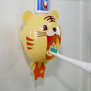Dentifrice automatique serrant la brosse à dents de machine - petit tigre -