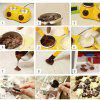 Chocolate Melting Machine Electric Heating Double Pot for Fondue Party -
