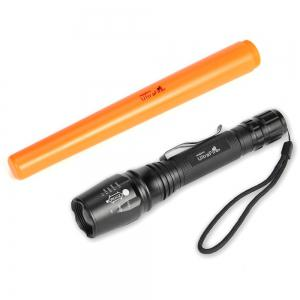 UltraFire TW - X7 XM - L2 980LM 5-SPEED Focus Light Signal Stick Flashlight -