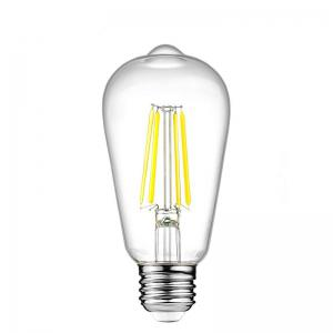 KWB LED Filament Edison Bulb 2700K Warm White 4W / 6W / 8W 2PCS -
