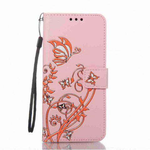 Cheap Embossing Colorful Daffodils PU Phone Case for Samsung Galaxy  S8