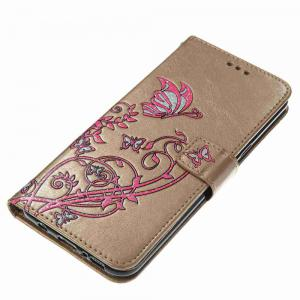 Embossing Colorful Daffodils PU Phone Case for Samsung Galaxy S8 Plus -