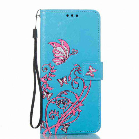 Cheap Embossing Colorful Daffodils PU Phone Case for Samsung Galaxy S8 Plus