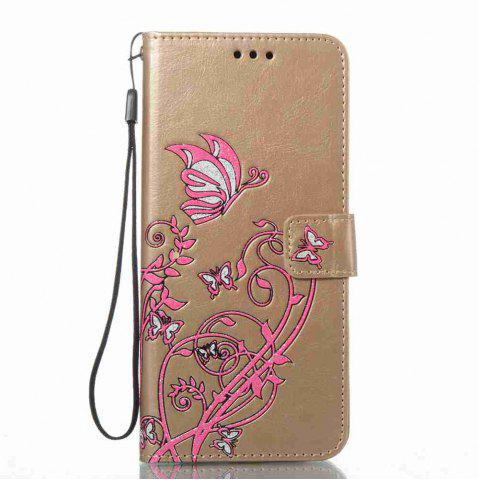 Sale Embossing Colorful Daffodils PU Phone Case for Samsung Galaxy S8 Plus