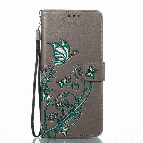 Shops Embossing Colorful Daffodils PU Phone Case for Samsung Galaxy S8 Plus