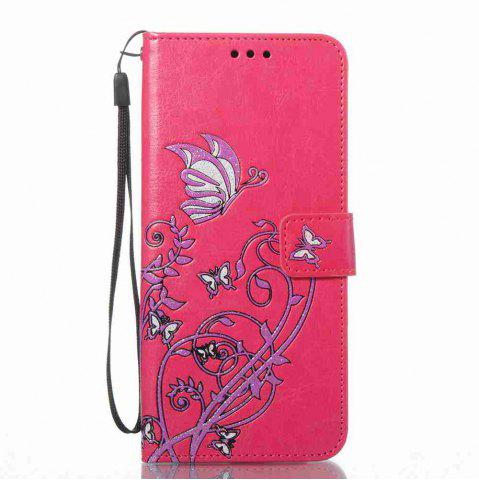 Discount Embossing Colorful Daffodils PU Phone Case for Samsung Galaxy S8 Plus