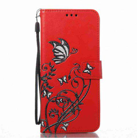 Outfits Embossing Colorful Daffodils PU Phone Case for Samsung Galaxy S8 Plus