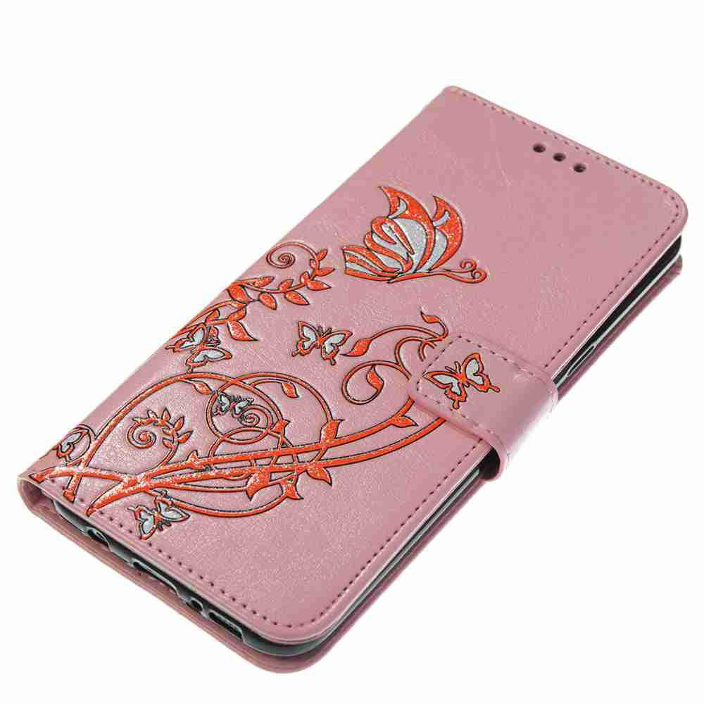 Unique Embossing Colorful Daffodils PU Phone Case for Samsung Galaxy S8 Plus