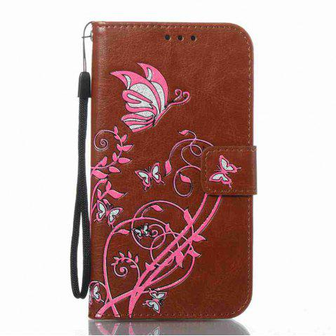 Cheap Embossing Colorful Daffodils PU Phone Case for Samsung Galaxy S7
