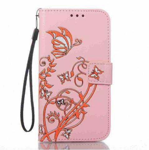 New Embossing Colorful Daffodils PU Phone Case for Samsung Galaxy S7