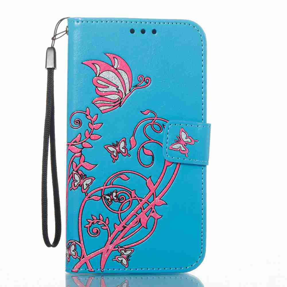 Buy Embossing Colorful Daffodils PU Phone Case for Samsung Galaxy S7