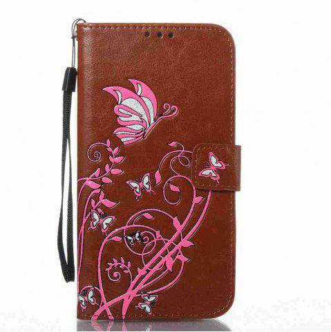 Shop Embossing Colorful Daffodils PU Phone Case for Samsung Galaxy  S7 Edge
