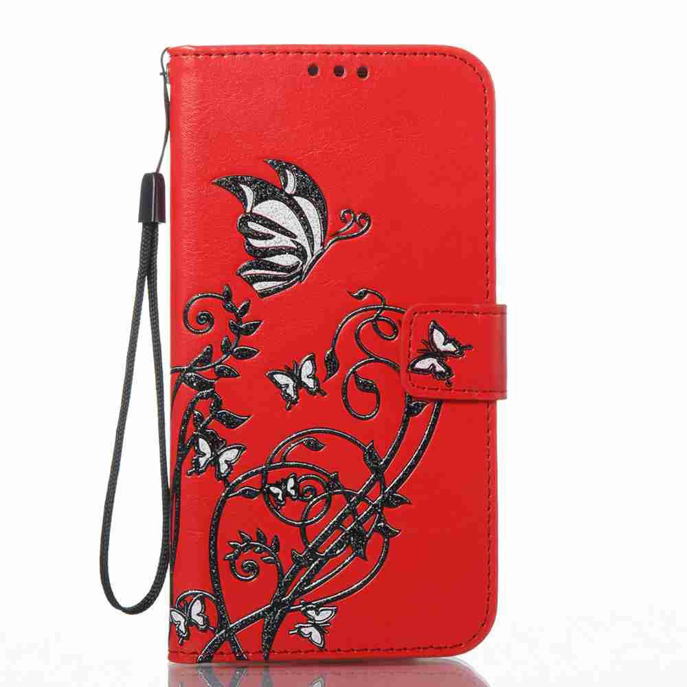 Hot Embossing Colorful Daffodils PU Phone Case for Samsung Galaxy  S7 Edge
