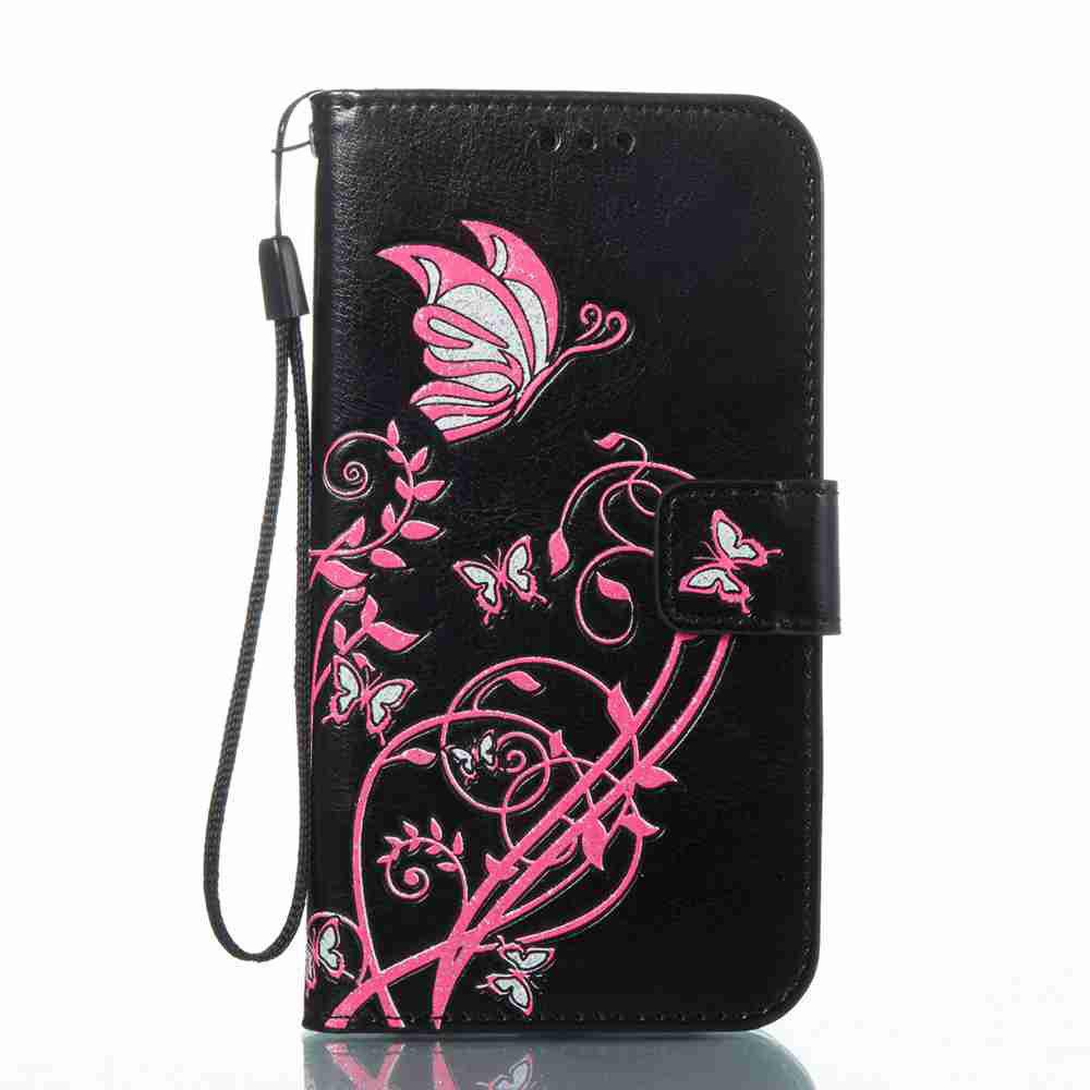 Best Embossing Colorful Daffodils PU Phone Case for Samsung Galaxy  S6 Edge