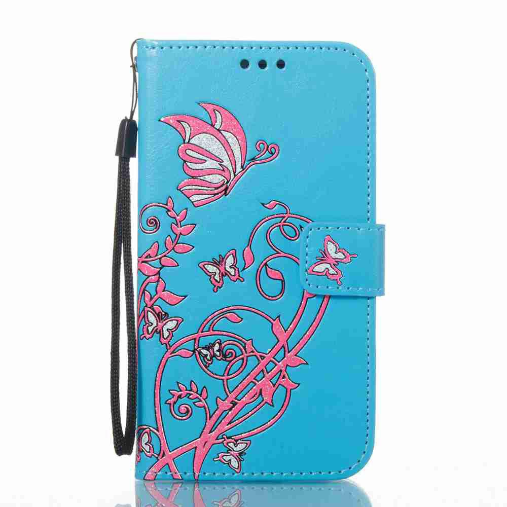 Sale Embossing Colorful Daffodils PU Phone Case for Samsung Galaxy  S6 Edge
