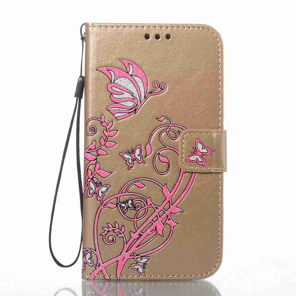 Trendy Embossing Colorful Daffodils PU Phone Case for Samsung Galaxy  S6 Edge